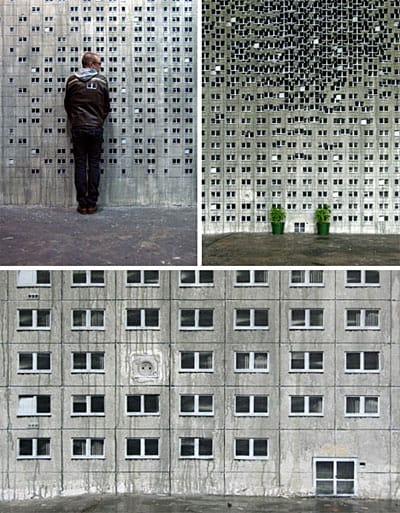 architectural-art-murals via dornob as seen on Art Is Everywhere