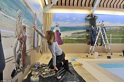 Janet Shearer Photos via Mail Online - UK News, seen on Art Is Everywhere