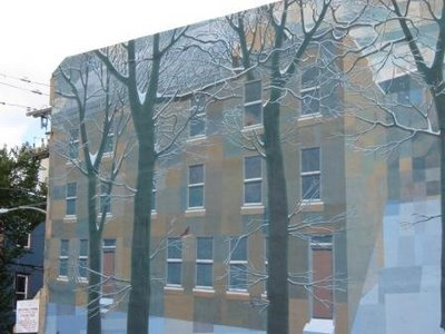 Winter_Mural by David Guinn via Joanna.com, seen on Art Is Everwhere
