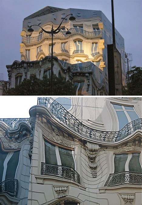 Trompe l'oeil via web-urbanist, as seen on Art-Is-Everywhere