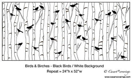 Casart-coverings_Birds-Birch_1x_Art Is Everywhere