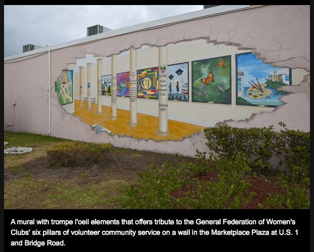 Hobe Sound Mural Project. All photos via TCPalm, as seen on Art Is Everywhere.