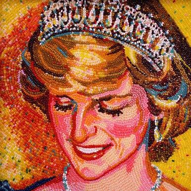 Princess Diana Jelly Belly art