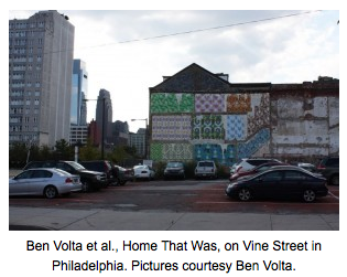 Ben Volta_Home That Was, via The Art Blog as seen on Art Is Everywhere