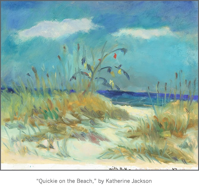 Casart coverings Katherine Collection - Quickie on the Beach
