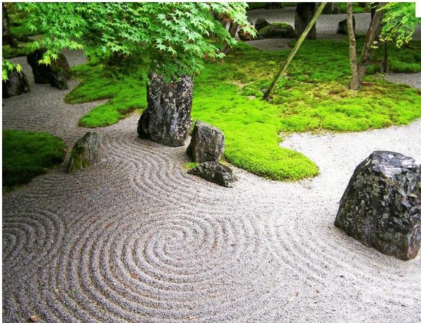 Japanese Zen garden as seen on Art Is Everywhere