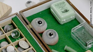 Prosthetic eye toolbox, as seen on Art is Everywhere