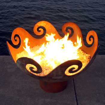 04-waves-o-fire-firebowl by John T. Unger, as seen on Art Is Everywhere