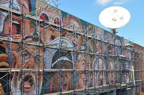 Singing Mural by CF Payne_Photo by Scott-Beseler of Social Media, as seen on Art Is Everywhere