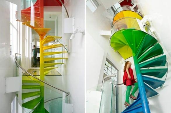 Rainbow-House-by-Ab-Rogers-Design-and-DA-Studio via modern house deco, on Art is Everywhere