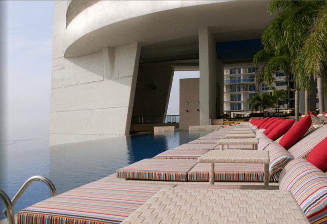 Infinity Pool at the Trump Ocean View Tower in Panama, as seen on Art Is Everywhere
