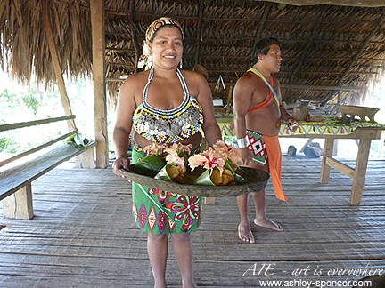 Lunch at Embera Village_Art Is Everywhere