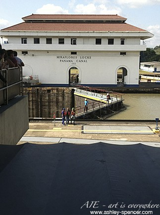 Miraflores Panama Canal Locks_Art Is Everywhere