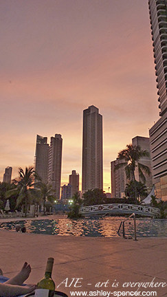 Sunset in Panama City_Art Is Everywhere