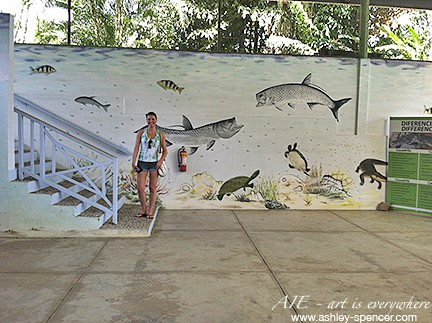 Panamanian fish mural _ Art Is Everywhere