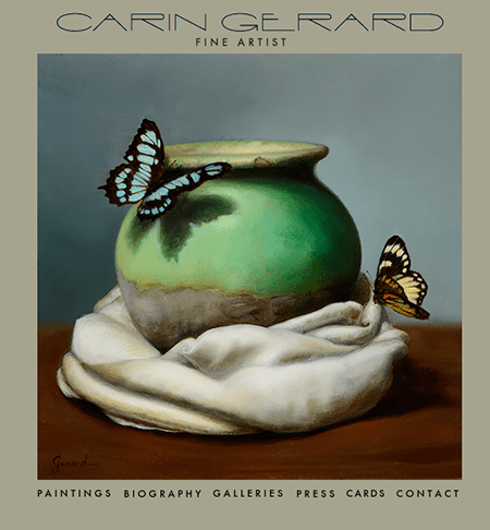 Carin Gerard butterfies, as seen on Art Is Everywhere