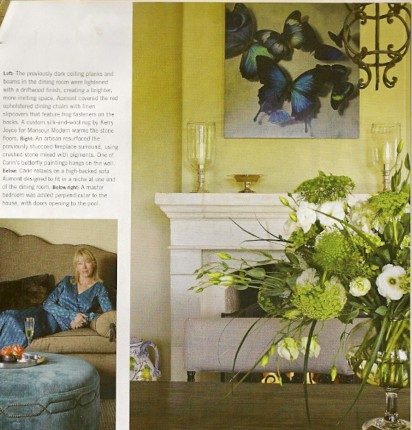 Carin Gerard Traditional Home November 2010 issue, as seen on Art Is Everywhere