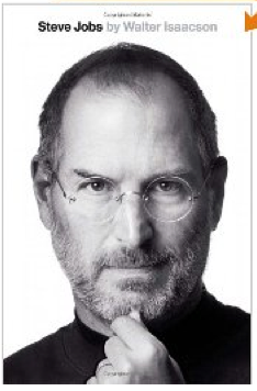 Steve jobs book by Walter Isaacson_as seen on Art Is Everywhere