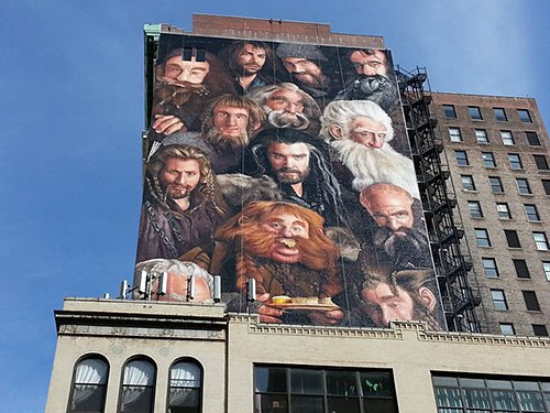 Hobbit mural_via GalleyCat_AIE_ Art Is Everywhere