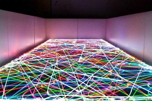 Roomba-LED-Light-Art-IBRoomba-_via Habitat, as seen on Art Is Everywhere