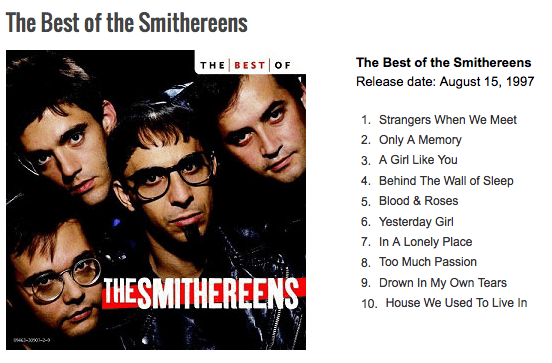 best of smithereens, Art Is Everywhere