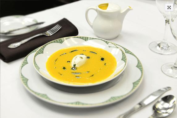 butternut squash soup_AIE, Art is Everywhere