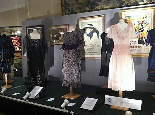 1920's Fashion exhibit at the Antiques in Alexandria Show, as seen on Art Is Everhywhere