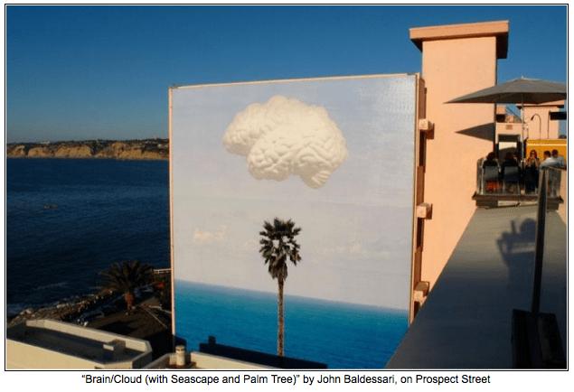 Brain Cloud by John Baldessari on Art Is Everywhere