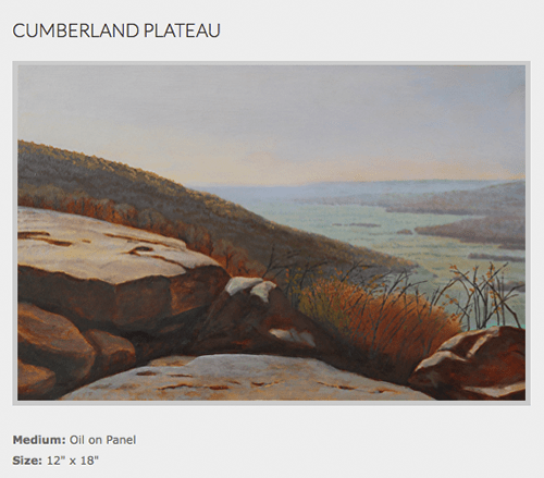 tony winters_cumberland plateau on Art Is Everywhere