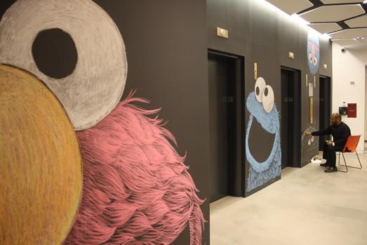 Sesame Street 1_ via Laughing Squid on Art Is Everywhere
