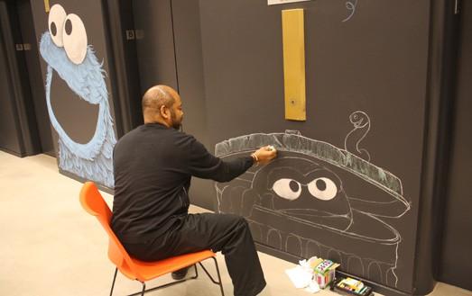 Sesame Street 3_ via Laughing Squid on Art Is Everywhere
