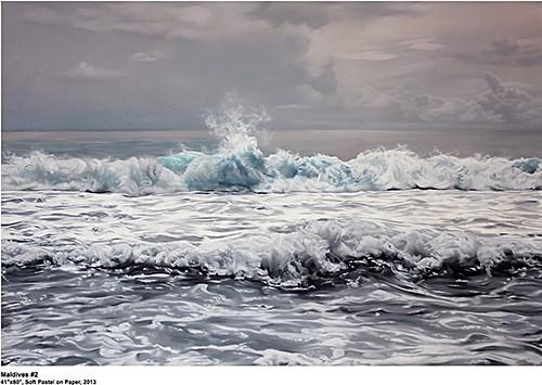 Zaria Foreman_Maldives 2 on Art Is Everywhere blog