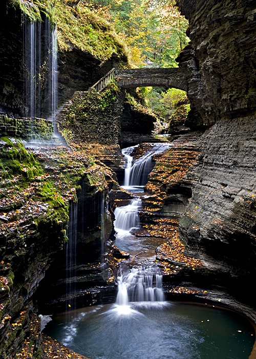 watkins-glen-gorge-rainbow-bridge-new-york_by Peter Rivera on AIE blog