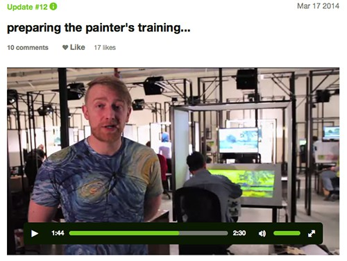 Hugh Welchman_Loving Vincent project 2 on Art Is Everywhere
