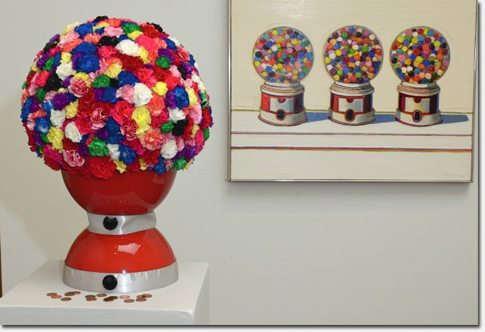bouquets to gumball via richmondsfblog.com on art is everywhere