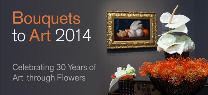Bouquets to Art 2014 on Art is Everywhere