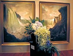 Bouquets to waterfall on Art is Everywhere