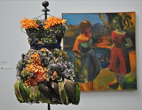 bouquets to art inspired via www.sanfranciscosentinel.com on Art is Everywhere