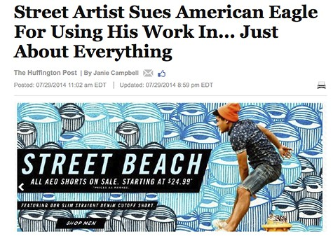 Huffington Post_Ahol's Street Art used