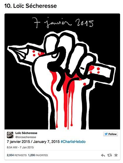 Charlie Hebdo cartoon reaction 5 on Art Is Everywhere