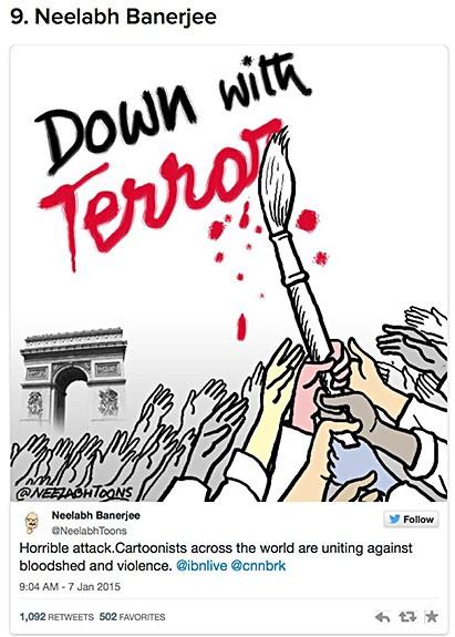 Charlie Hebdo cartoon reaction 3 on Art Is Everywhere
