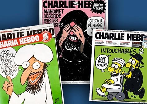 Chalie Hebdo Cartoon on Art Is Everywhere