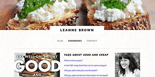 Leanne Brown Good and Cheap cookbook_AIE