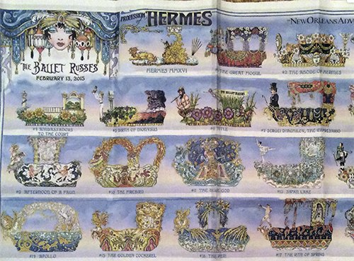 Hermes Float Illustrations on Art is Everywhere
