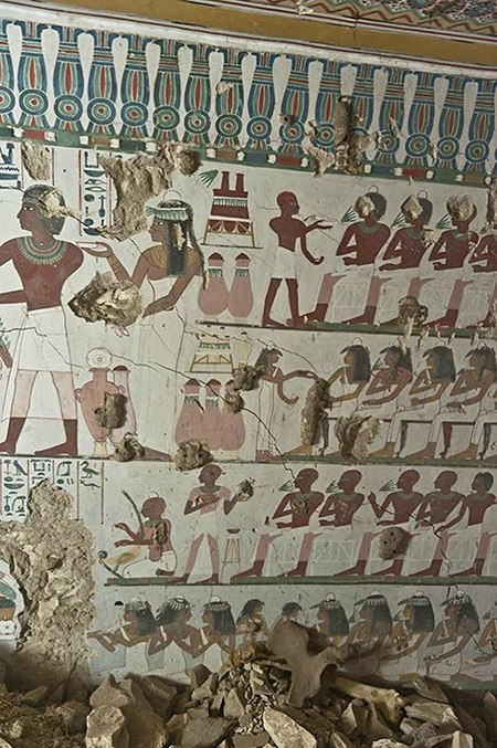 Egyptian Murals on Art Is Everywhere
