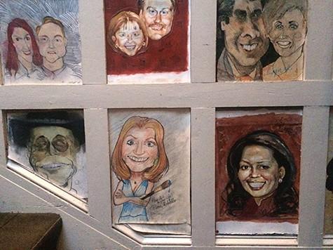 Patsie Uchello caricatureWarehouse restaurant caricatures 2 on Art is Everywhere