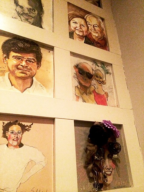 Warehouse restaurant caricatures 4 on Art is Everywhere