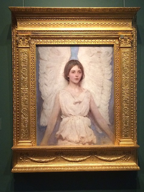 Angel Painting by Abbot Handerson Thayer on Art Is Everywhere