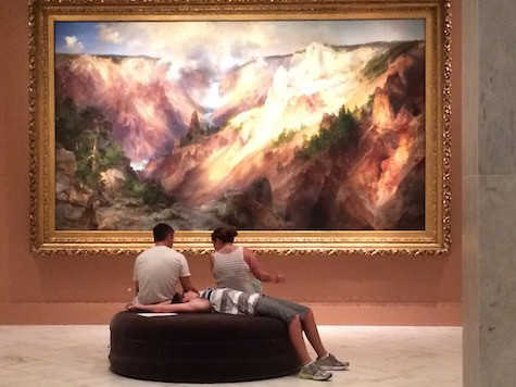 Thomas Moran Painting on Art Is Everywhere