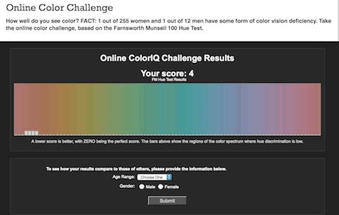 Pantone color hue challenge 3 on Art is Everywhere